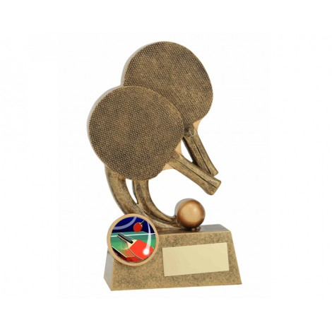 Epic Table Tennis Resin Trophy