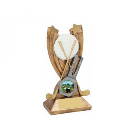 41. Medium Golf Resin Trophy