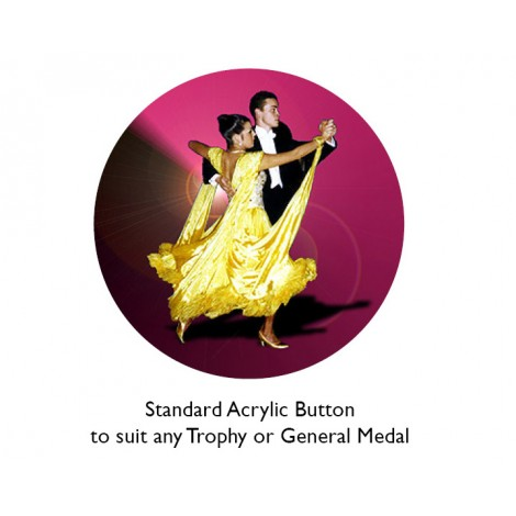 Dance - Ballroom Acrylic Button