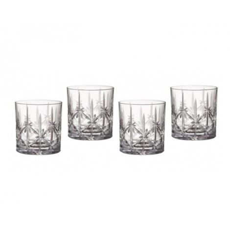 06.  Marquis by Waterford Sparkle Double Old Fashioned Tumblers