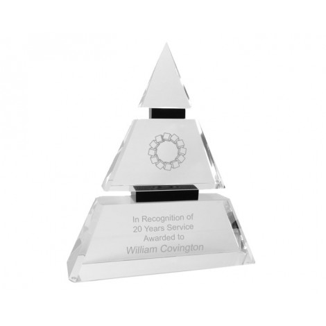 Crystal Award - Sample Laser Etching