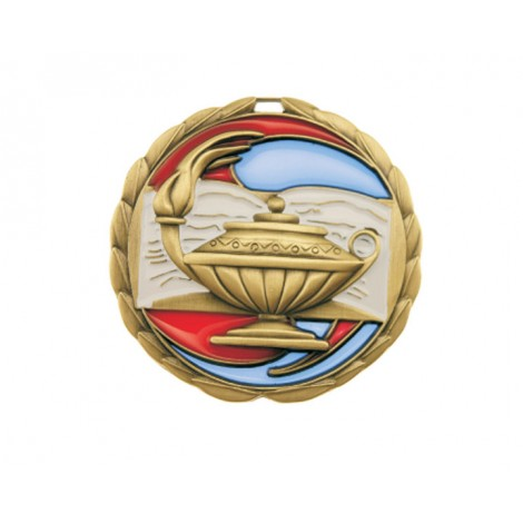 02. Stained Glass Knowledge Medal