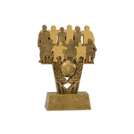The Team, Football / Soccer Resin Trophy