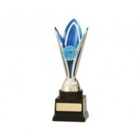 Netball 'Blue & Silver Sunray Series' Trophy