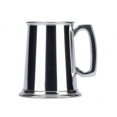 20. British Pewter Plain Tankard, 475ml