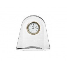 "16. Bohemia Crystal ""Contemporary"" Clock"