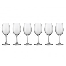 01. Bohemia Crystal 'Gourmet' Red Wine Set of 6