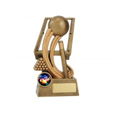 Epic' Snooker Resin Trophy