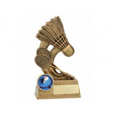 Epic' Badminton Resin Trophy