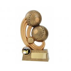 Epic' Lawn Bowls Resin Trophy