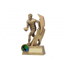 Aussie Rules Player Shazam Resin Trophy