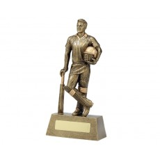 Cricket 'Hero' Resin Trophy