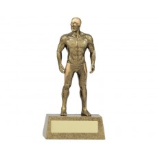 30. Large Male Swimming Hero Resin Trophy