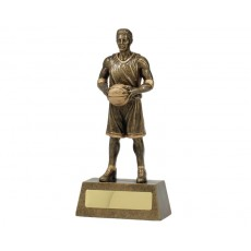 Basketball Hero Male Resin Trophy