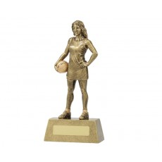 Netball 'Hero Series' Resin Trophy