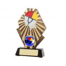 26. Large Surf Life Saving Silhouette Resin Trophy