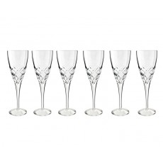 14. Bohemia Grandeur Crystal Wine, Set of 6, 260ml