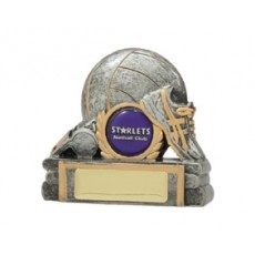 Netball 'Ball and Shoe' Resin Trophy