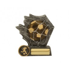 Football / Soccer 'Back of the Net' Resin Trophy