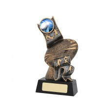 Ribbon' Series Rugby Resin Trophy