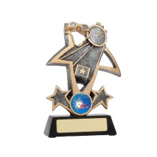 33. Large Swimming Star Resin Trophy