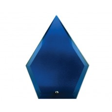 Blue Arrowhead Glass