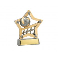 11. Volleyball Star Resin Trophy
