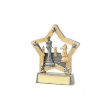 02. Chess Star Resin Trophy