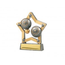 13. Lawn Bowls Star Resin Trophy