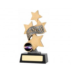 "Dance ""Starburst"" Resin Trophy"