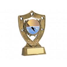 20. Medium Shield Shape Resin Trophy