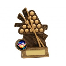 Snooker/Pool Mini Xblast Resin Trophy