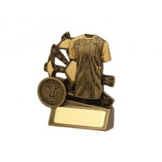 Football / Soccer 'Mini Xblast' Resin Trophy