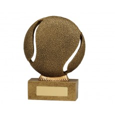 "Tennis ""The Ball"" Resin Trophy"