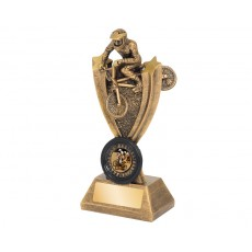 BMX Action Resin Trophy