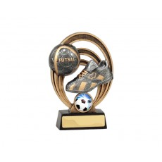 Futsal Halo Resin Trophy