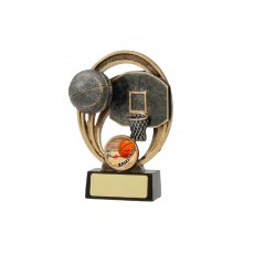 Basketball Halo Resin Trophy