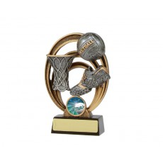 Netball 'Halo Series' Resin Trophy