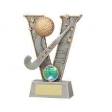 Hockey 'V' Series Resin Trophy