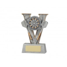 Darts V Series Resin Trophy