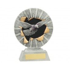 02. Medium Pigeon Xplode Resin Trophy