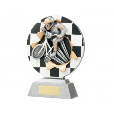 BMX Xplode Resin Trophy