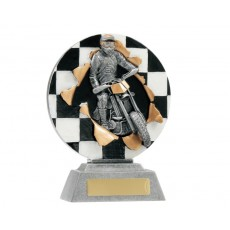 33. Large Motor Sport Xplode Resin Trophy
