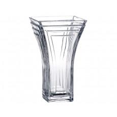 38. Bohemia Crystal  Cascade Vase, 25.5cm