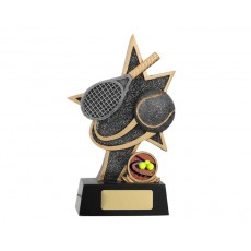 SuperStar Tennis Resin Trophy