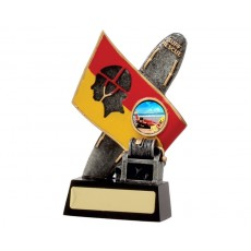 04. Small Lifesaving Flag Resin Trophy