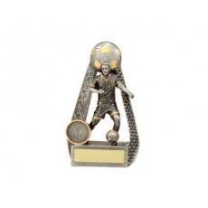Football / Soccer 'Male Portal' Resin Trophy