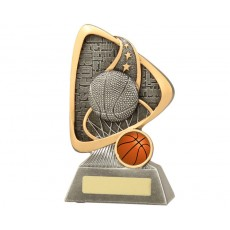Basketball Graffiti Resin Trophy