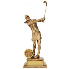 Golf Female Elite Trophy inc button