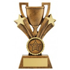 All Star Prize Trophy Cup inc button